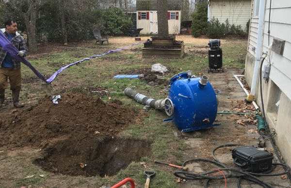 Sewer Repair In Menlo Park: Removing Tree Roots From Sewer Lines Evergreen Park IL